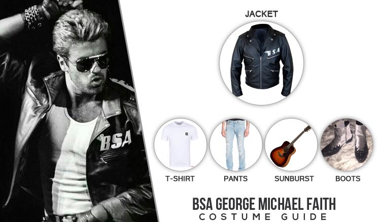 Soundtrack Album Faith George Michael Costume