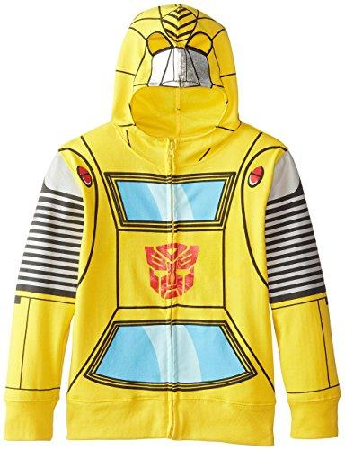 Transformers Bumblebee Authentic Movie Hoodie,Toyline Adult /& Kids Hoodie Top