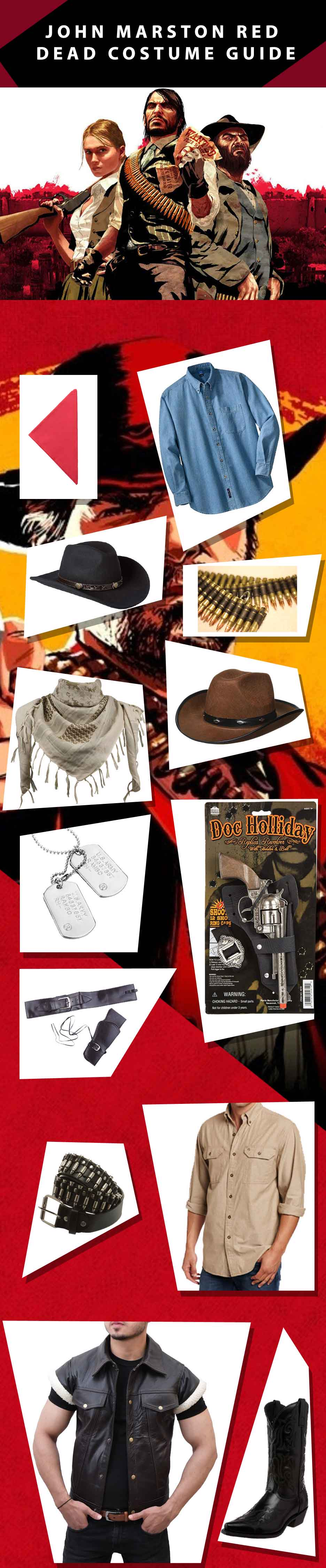 Red Dead Redemption Costume Ultimate Jackets Blog