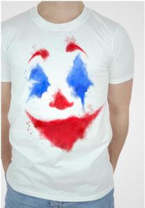 BESTcos Knight Joker Costume Shirt Pants Suit Halloween Cosplay Full Set for Men