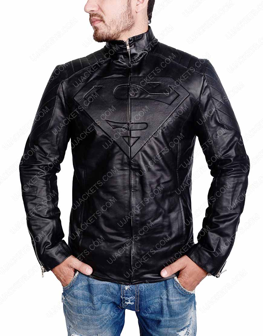 superman-smallville-leather-jacket