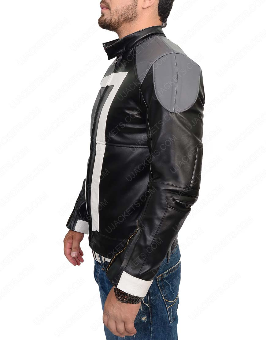 Robbie Reyes Agents of Shield Ghost Rider Jacket