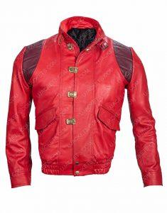 Akira Good for Health Bad for Education Kaneda Pill Leather Jacket