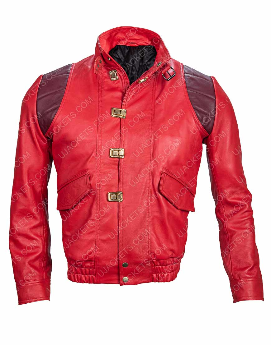 Akira Good for Health Bad for Education Kaneda Pill Leather Jacket