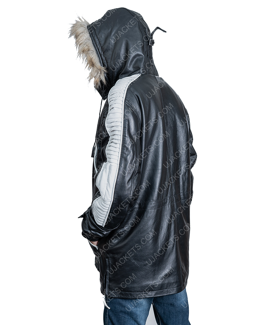Cassian Andor Rogue One A Star Wars Parka Hooded Jacket