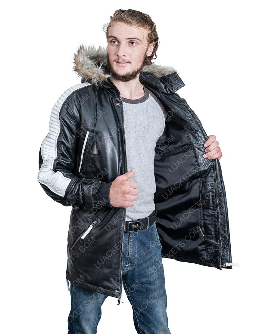 Diego Luna Star Wars Cassian Andor Fur Hoodie