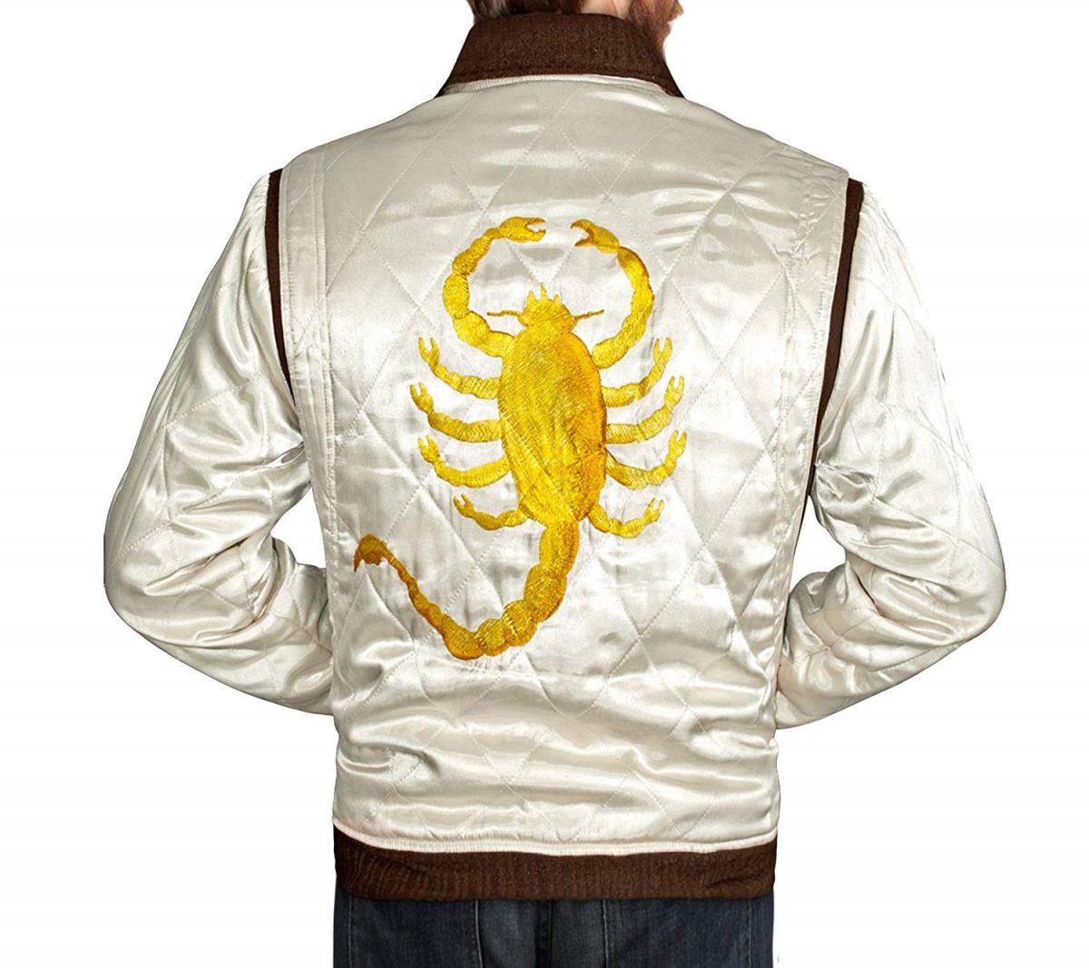 Golden Scorpion Drive Ryan Gosling Jacket