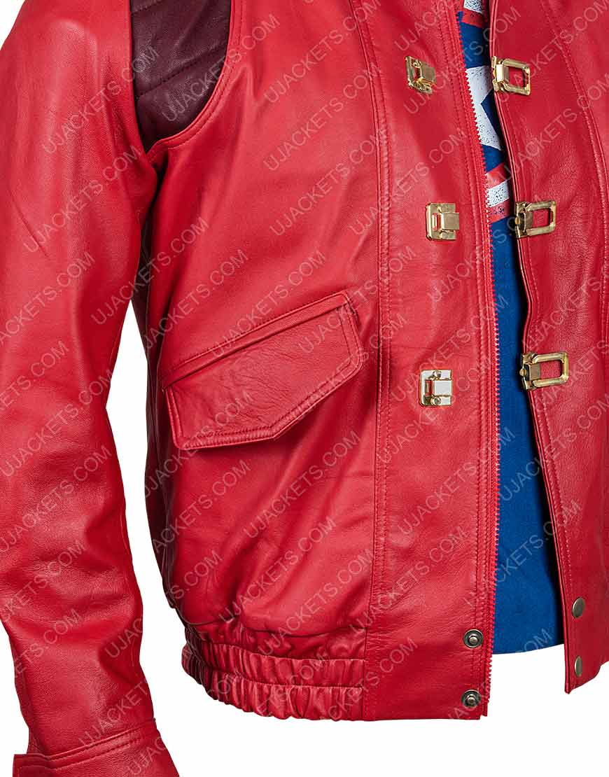 Good for Health Bad for Education Kaneda Pill Leather Jacket
