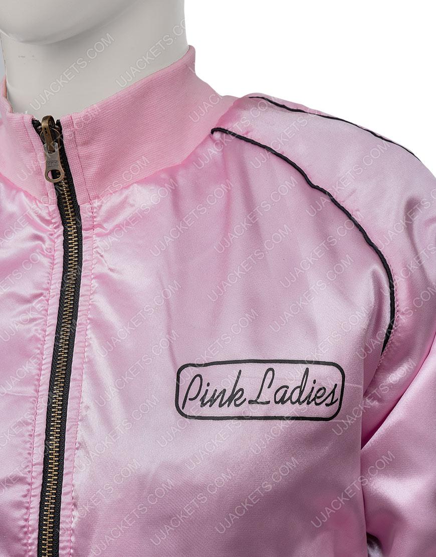 Grease 2 Stephanie Zinone Pink Satin Jacket