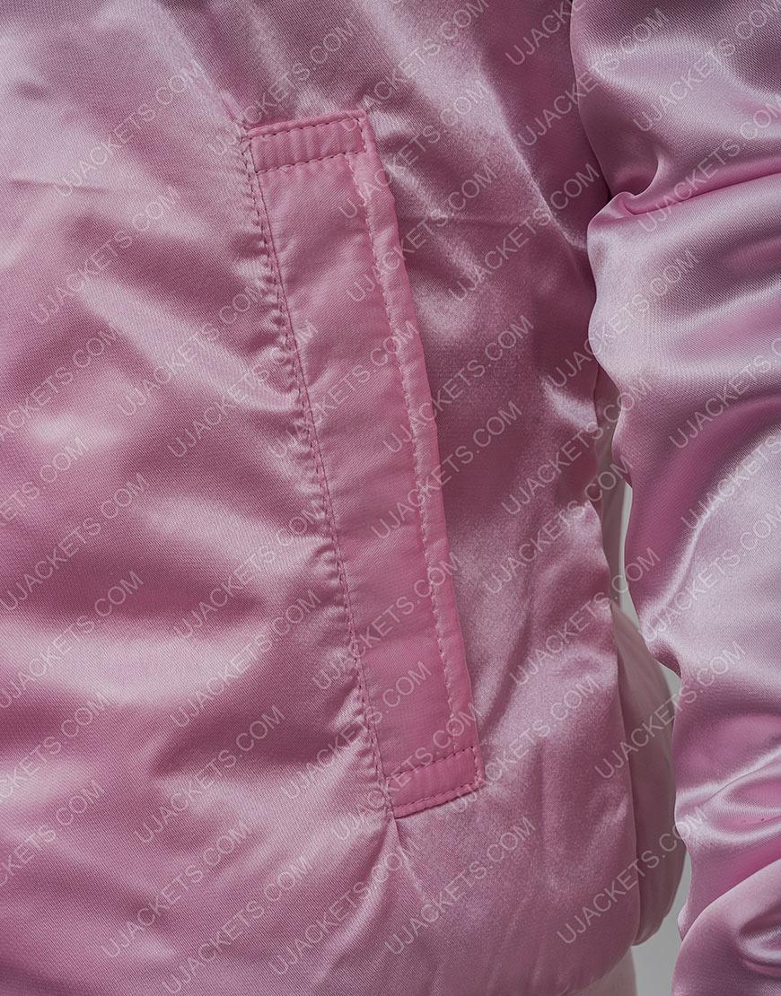Grease 2 Stephanie Zinone Satin Pink Jacket