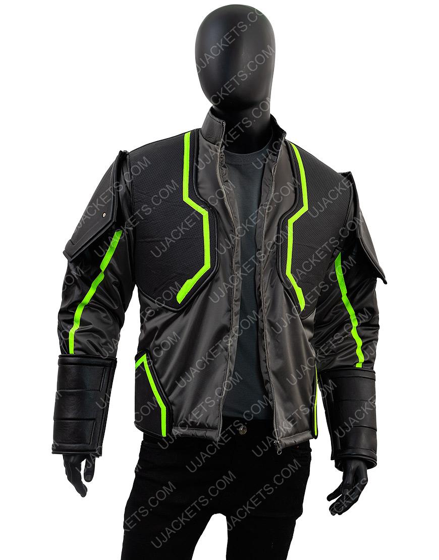 Injustice 2 Bane Black Jacket