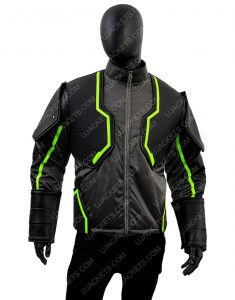Injustice 2 Bane Black Leather Jacket