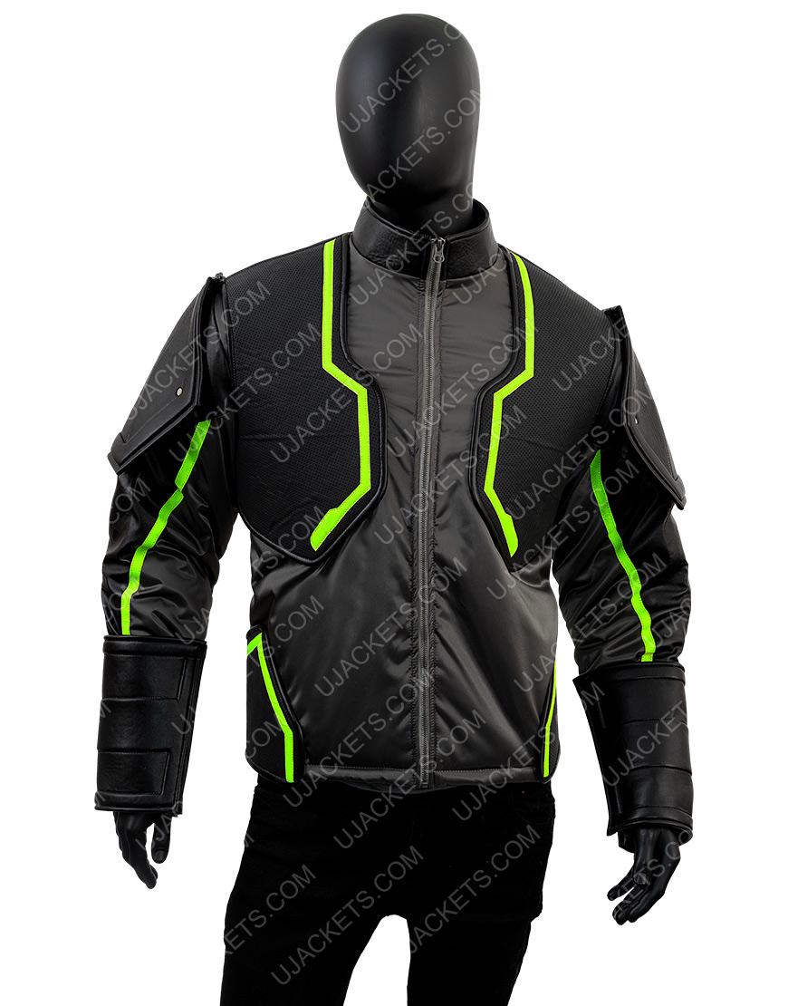 Injustice 2 Bane Black Leather Jacket