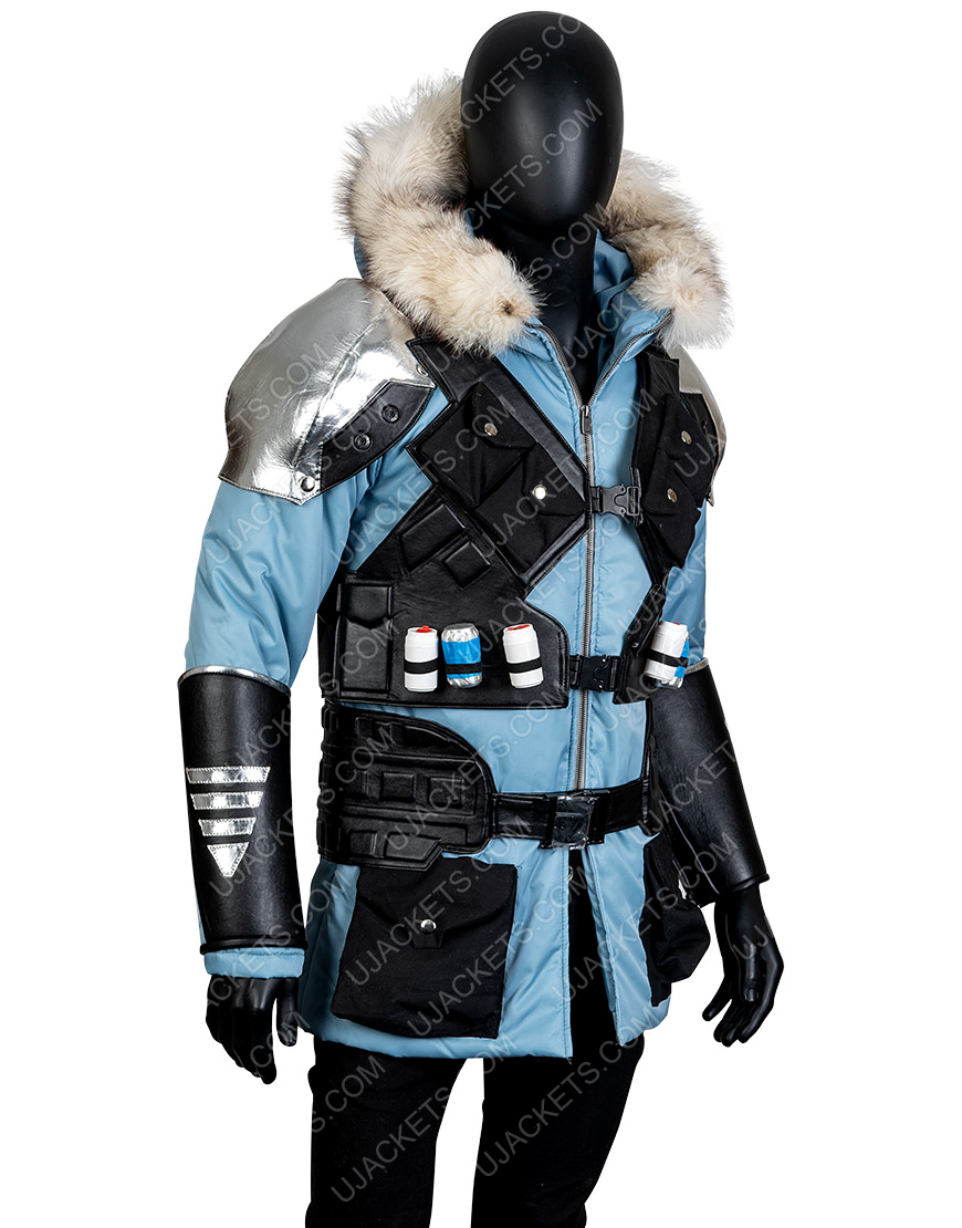 Injustice 2 Video Game Captain Cold Hooded Jacket