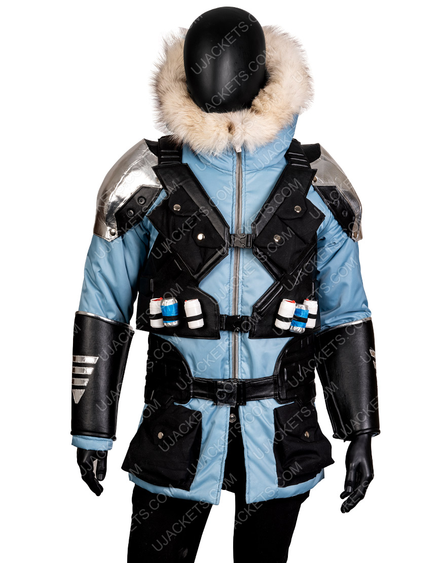 Injustice 2 Video Game Captain Cold Leather Jacket