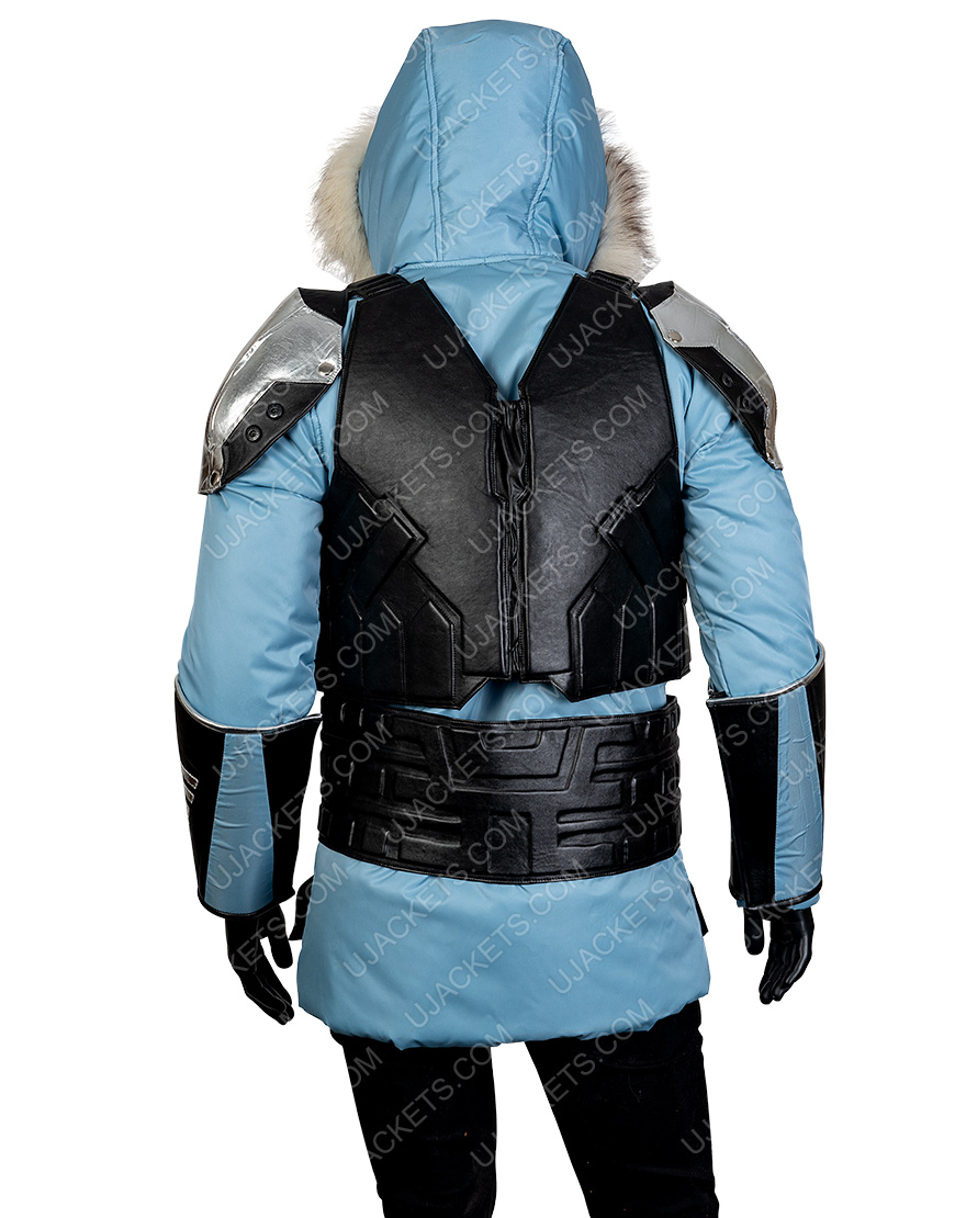 Injustice 2 Video Game Leather Hooded Jacket