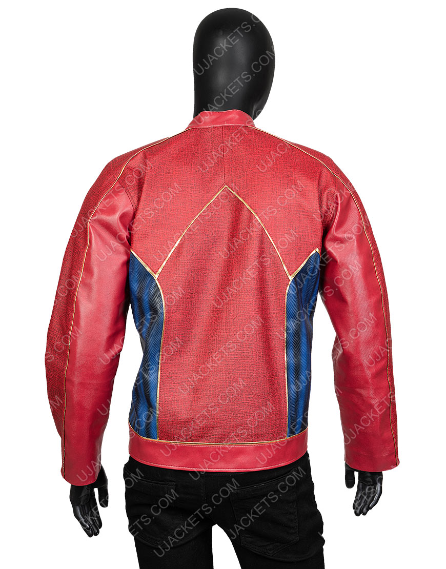 Jay Garrick The Flash John Wesley Sheep Leather Jacket