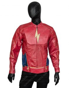 Jay Garrick The Flash John Wesley Shipp Leather Jacket