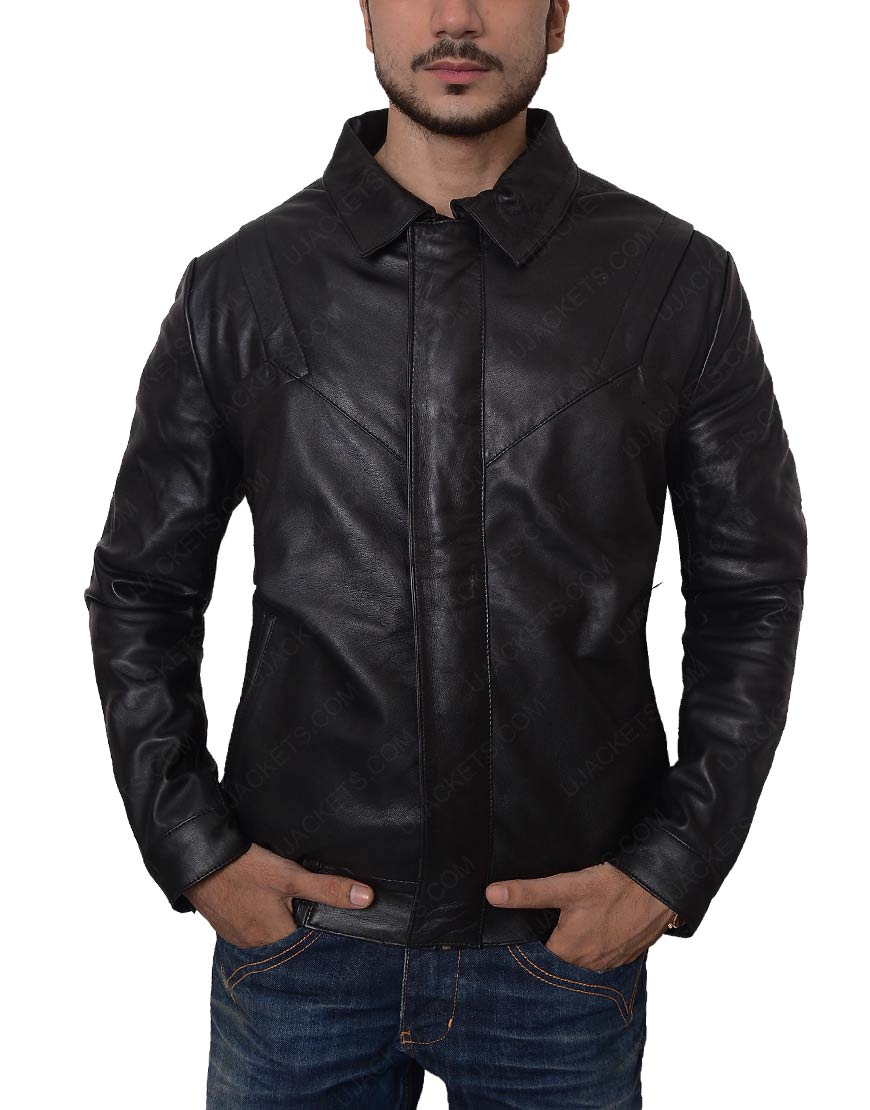 Knight Rider David Hasselhoff Leather Jacket