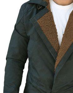 Officer K Ryan Gosling log coat