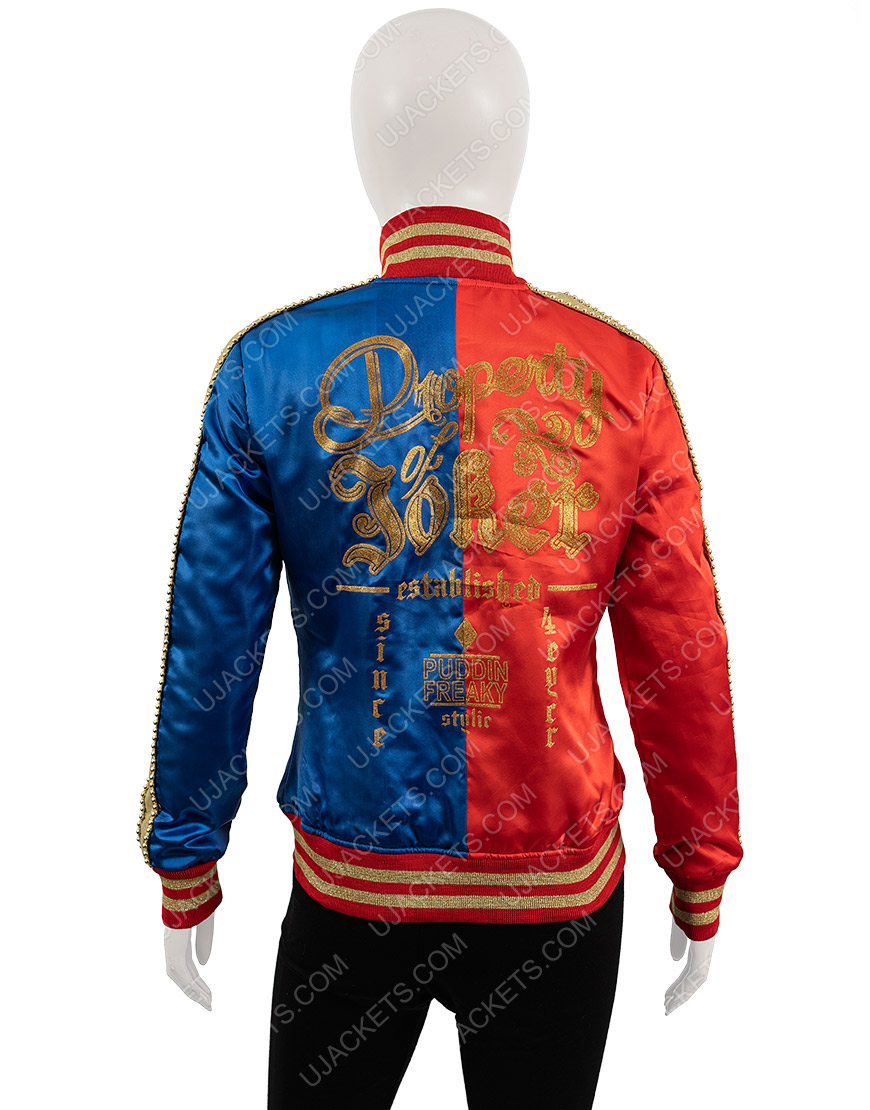 Suicide Squad Harley Quinn Property of Joker Jacket3