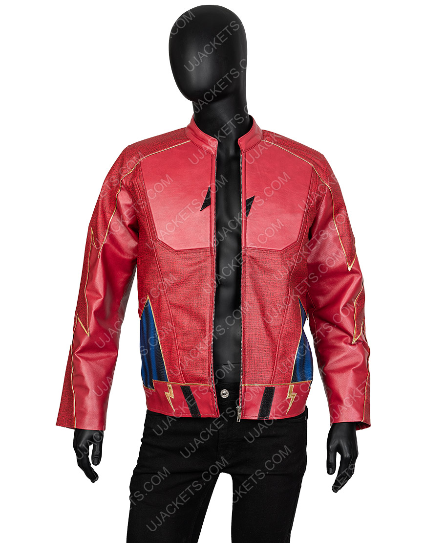 The Flash John Wesley Shipp Leather Jacket