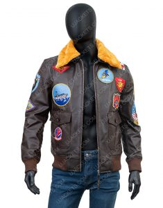 Tom Cruise Top Gun Bomber Jacket