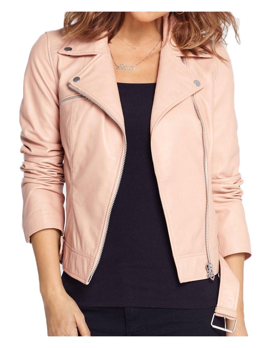 asymmetrical-pink-leather-jacket