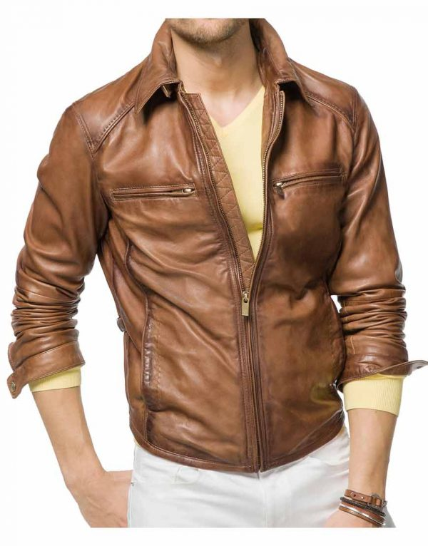 brown-leather-biker-jacket