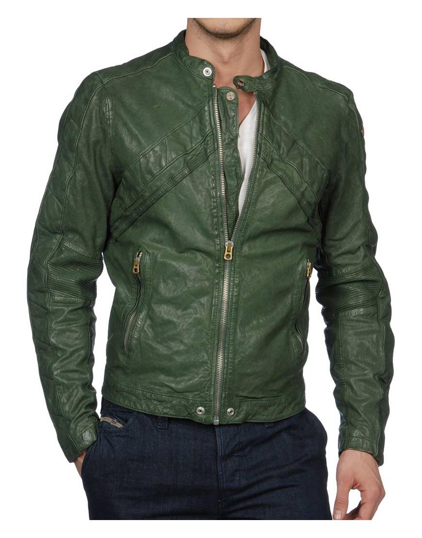 green-biker-jacket