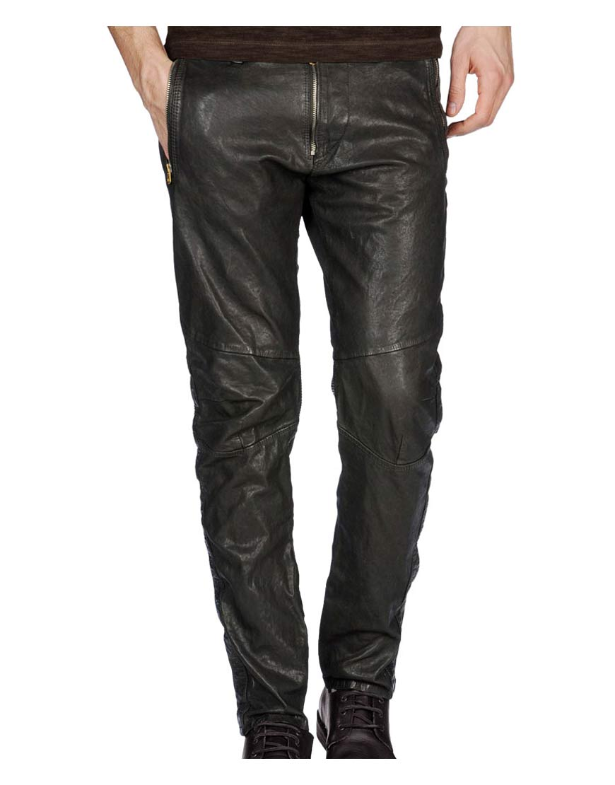 mens-black-leather-pants