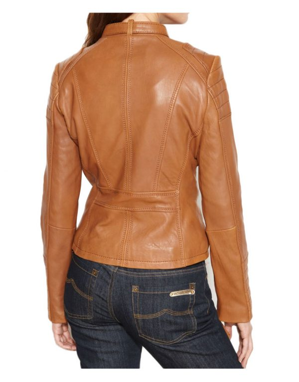 motorcycle-brown-leather-jacket