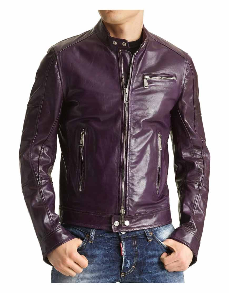 purple-faux-leather-jacket