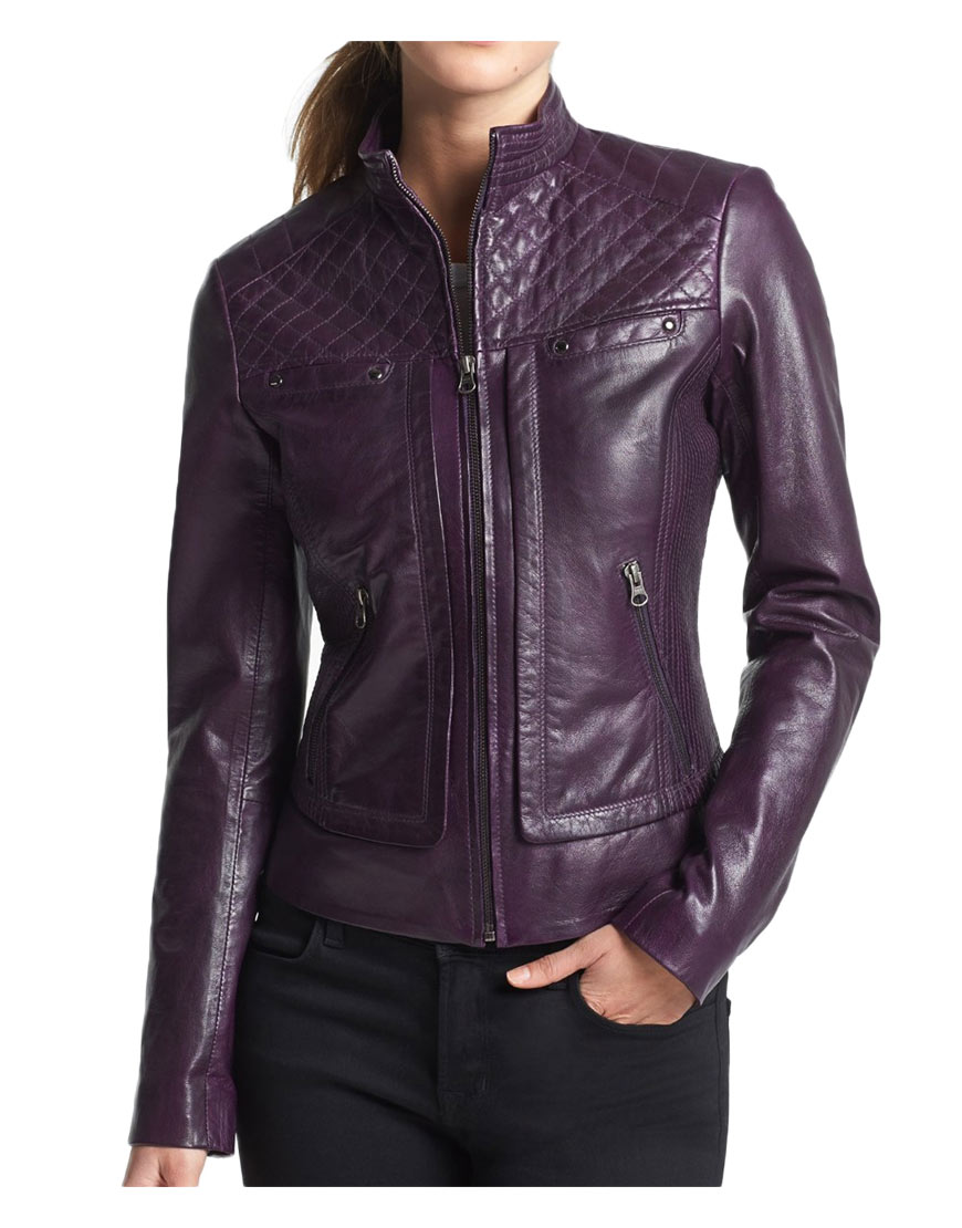 womens-purple-leather-jacket