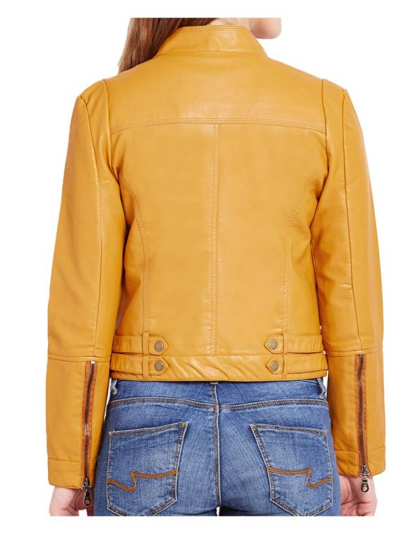 yellow-biker-jacket
