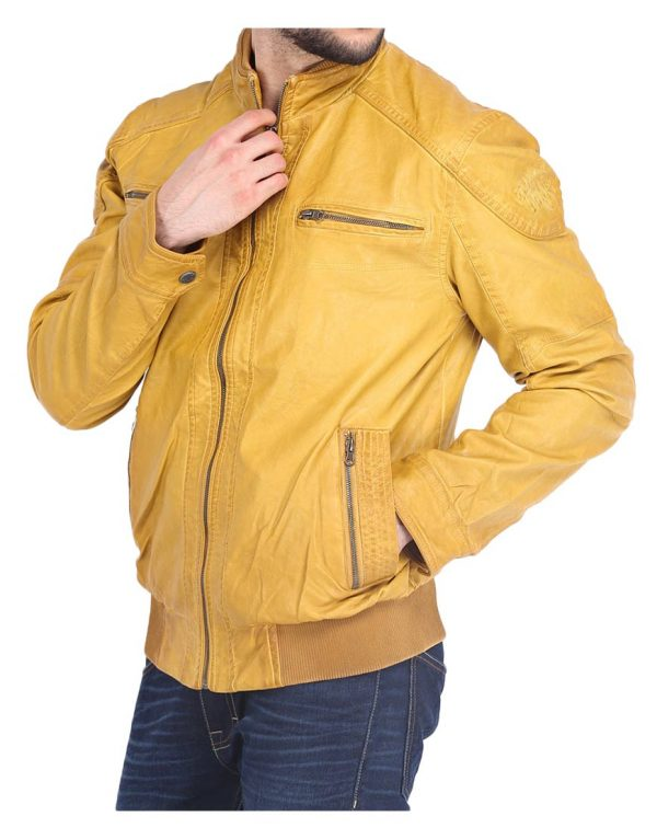 yellow-bomber-jacket