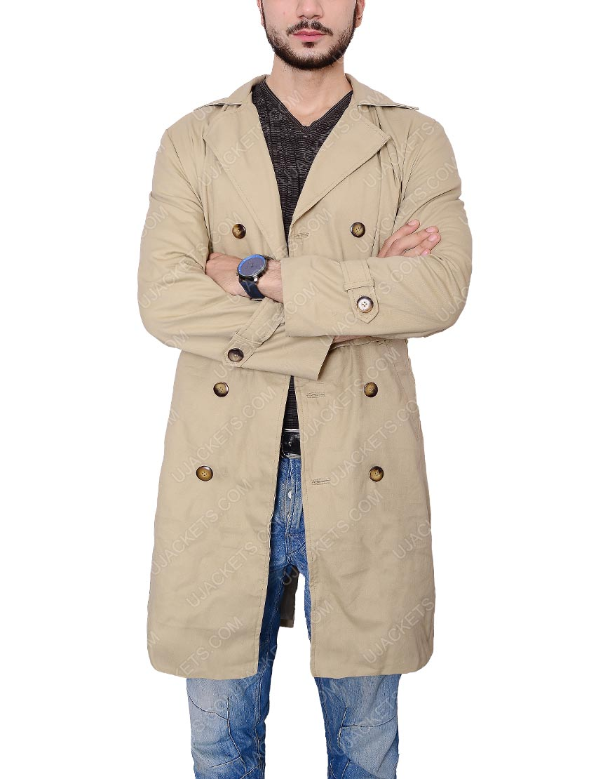 supernatural trench long coat