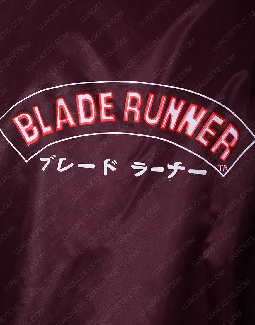 360bbffed Satin Bomber Blade Runner Crew Jacket - UJackets