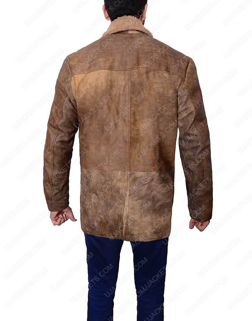 arthur curry justice league leather jacket