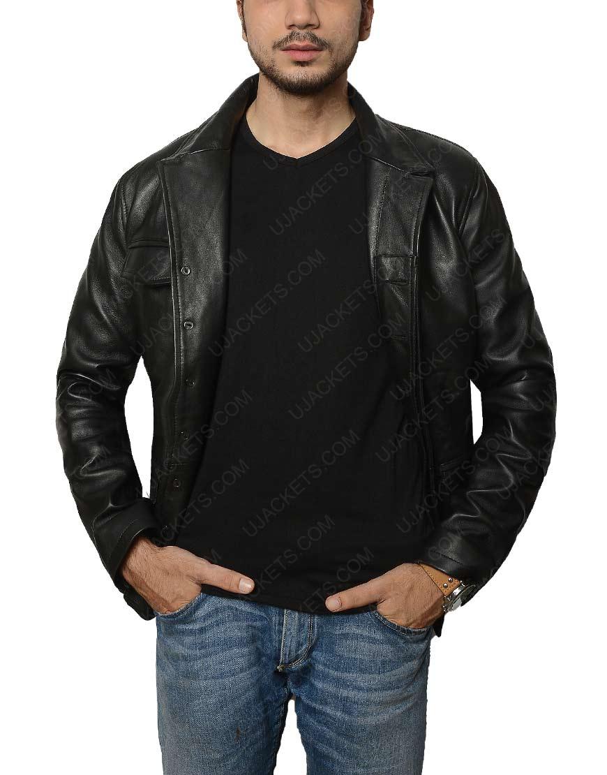 American Gods Distressed Black Jacket