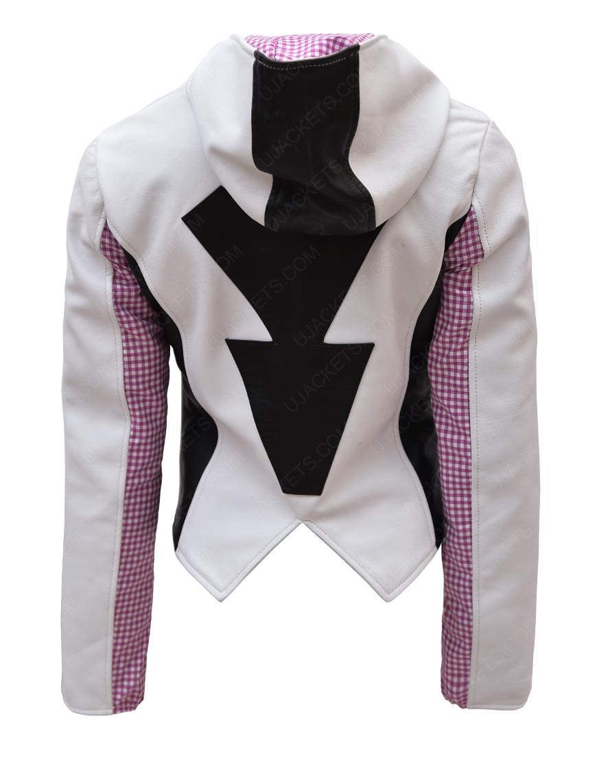 Spider Gwen Jacket with Hoodie