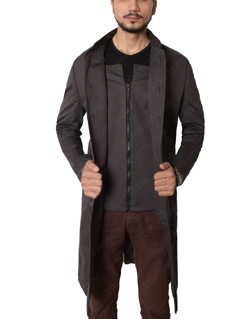 The Walking Dead Cotton David Morrissey Coat