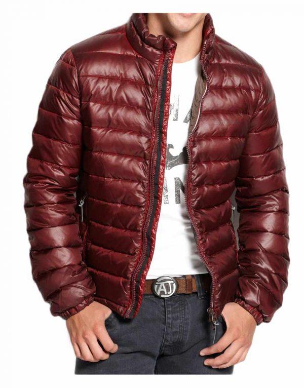 burgundy-puffer-jacket
