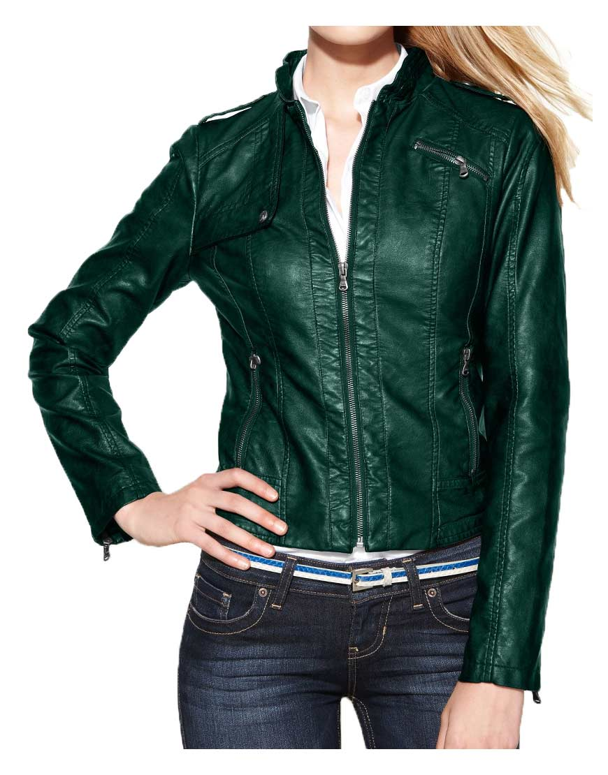 green-leather-biker-jacket