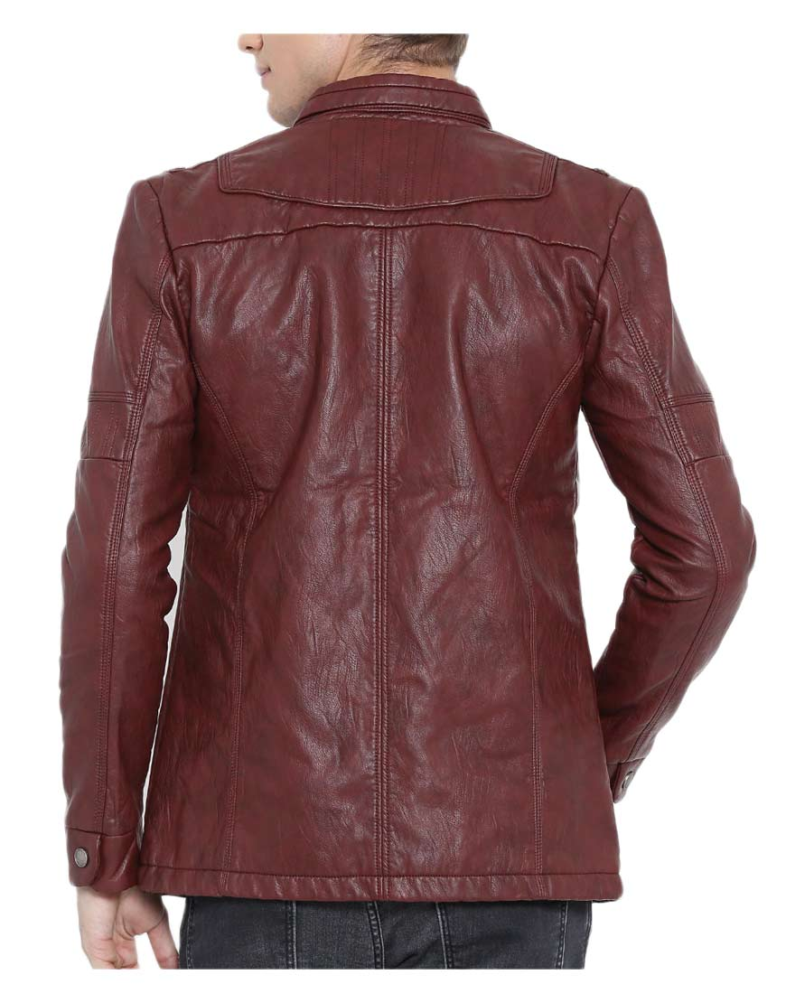 mens-burgundy-faux-leather-jacket