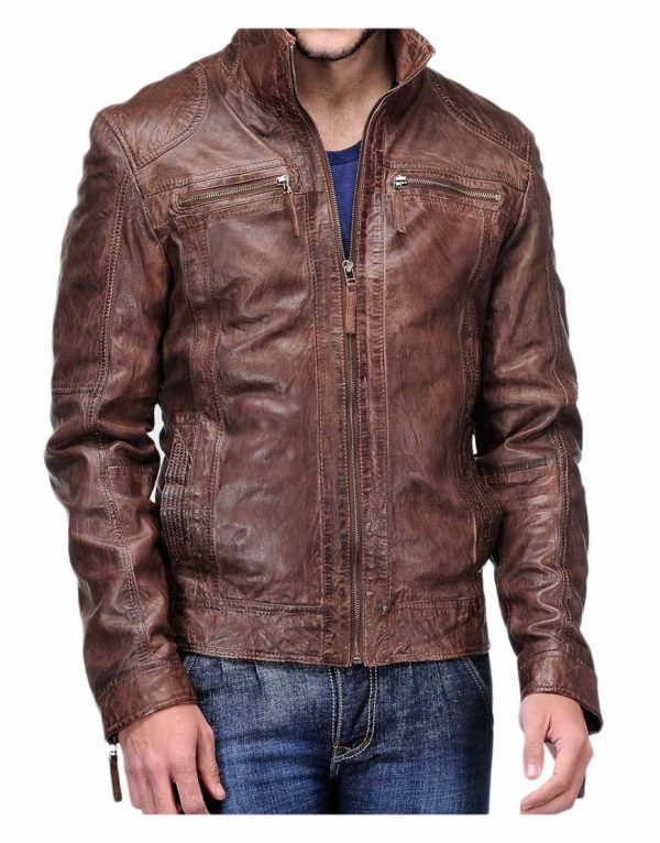 men's-distressed-brown-leather-jacket