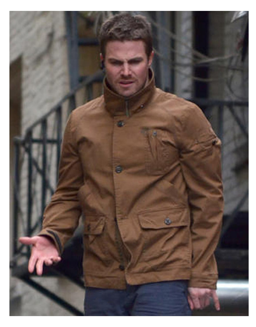 oliver-queen-brown-jacket