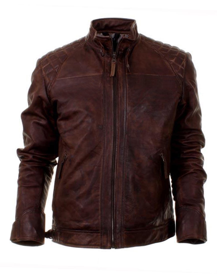 oliver-queen-brown-leather-jacket