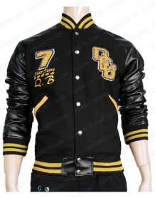 Justice League Victor Stone Letterman Jacket