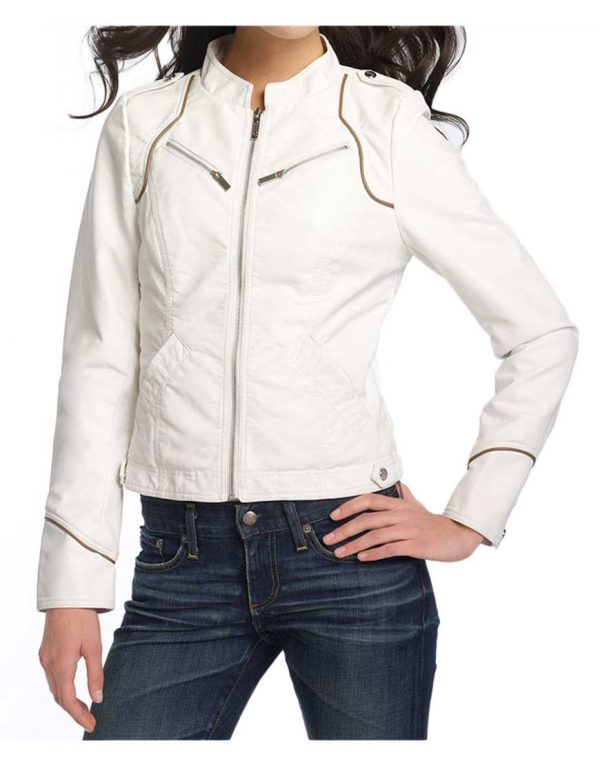 white-faux-leather-jacket